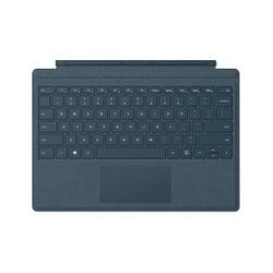 Microsoft Surface Pro Signature Type Cover Microsoft Cover port QWERTY Engels Blauw toetsenbord voor mobiel apparaat