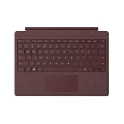 Microsoft Surface Pro Signature Type Cover toetsenbord voor mobiel apparaat QWERTY Engels Bordeaux rood Microsoft Cover port