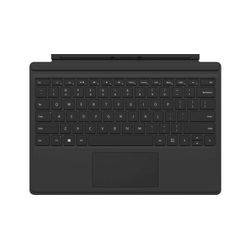 Microsoft Surface Pro Type Cover toetsenbord voor mobiel apparaat Duits Zwart Microsoft Cover port