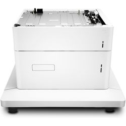 HP Color LaserJet 1x550/2000-sheet papierinvoer en standaard