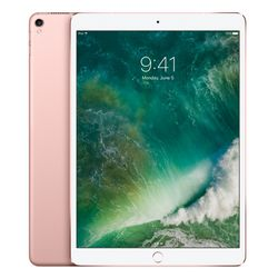 Apple iPad Pro tablet A10X 512 GB 3G 4G Roze goud
