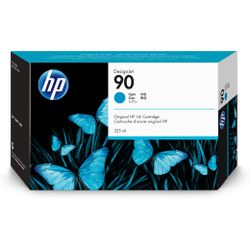 HP 90 cyaan DesignJet , 225 ml inktcartridge