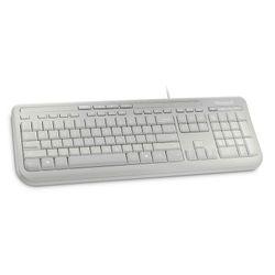 Microsoft Wired Keyboard 600 USB Alfanumeriek Engels Wit