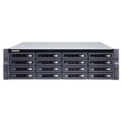 QNAP TS-1673U-RP NAS Rack (3U) Ethernet LAN Zwart