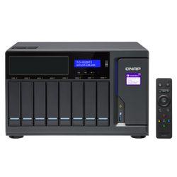 QNAP TVS-882BRT3 Ethernet LAN Toren Zwart NAS