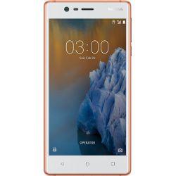 Nokia 3 Single SIM 4G 16GB Koper, Wit