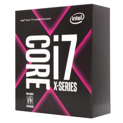 Intel Core ® ™ i7-7800X X-series Processor (8.25M Cache, up to 4.00 GHz) 3.5GHz 8.25MB L3 Box processor-BX80673I77800X