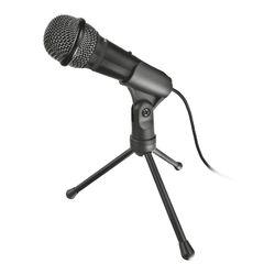 Trust STARZZ PC microphone Bedraad Zwart