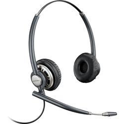 Plantronics Encorepro HW 720D Headset Hoofdband Zwart, Zilver