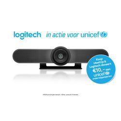 Logitech MeetUp 3840 x 2160 Pixels 30 fps Zwart