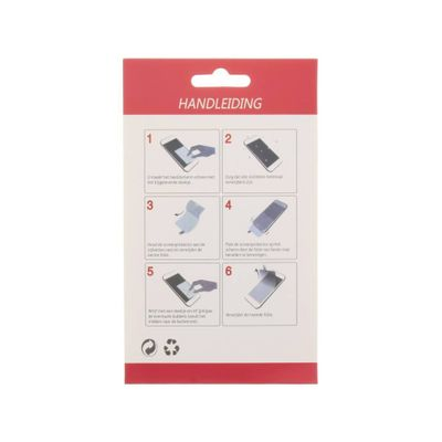 Selencia Anti-fingerprint screenprotector iPhone 5 / 5s /