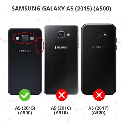 Selencia Gehard glas screenprotector Samsung Galaxy A5 -