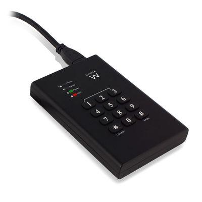 Ewent EW7040 behuizing voor opslagstations HDD-/SSD-behuizing Zwart 2.5