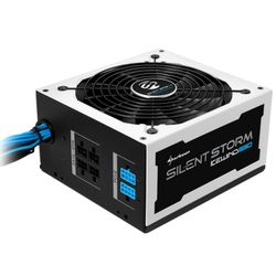Sharkoon SilentStorm Icewind 650W 650W ATX Zwart, Wit power