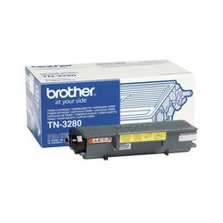 Brother TN-3280 Lasertoner 8000pagina's Zwart toners &