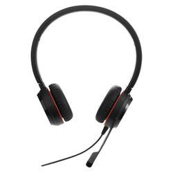 Jabra Evolve 20SE MS Stereo Stereofonisch Hoofdband Zwart