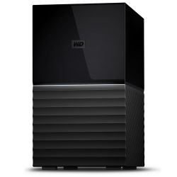 Western Digital My Book Duo 16000GB Desktop Zwart disk array-WDBFBE0160JBK-EESN