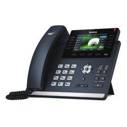 Yealink SIP-T46S Handset met snoer 16regels LCD Zwart IP telefoon