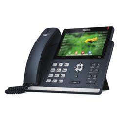 Yealink SIP-T48S Handset met snoer 16regels LCD Zwart IP telefoon