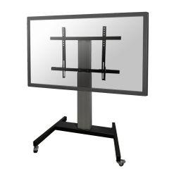 Newstar PLASMA-M2250SILVER flat panel vloer standaard Portable flat panel floor stand Zilver 2,54 m (100