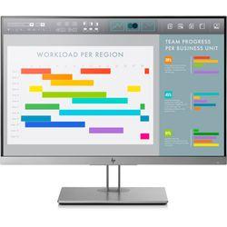 "HP EliteDisplay E243i LED display 61 cm (24"") WUXGA Flat Zwart, Zilver"