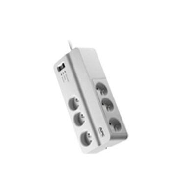 APC PM6-FR Overspanningsbeveiliging 6 AC-uitgang(en) 230 V 2