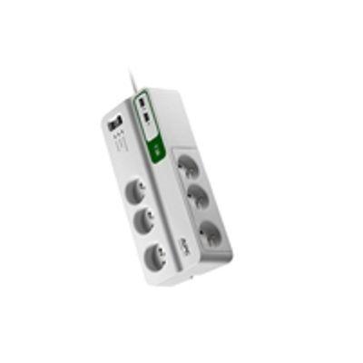 APC PM6U-FR Overspanningsbeveiliging 6 AC-uitgang(en) 230 V