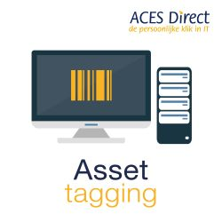 ACES Direct Asset tag per systeem-PRC-ASSET-TAG