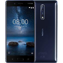 Nokia 8 4G 64GB Blauw