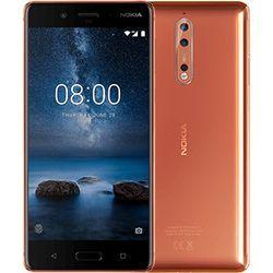 """Nokia 8 5.3"""" 4G 4GB 64GB 3090mAh Koper"""