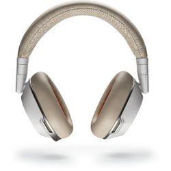 Plantronics Voyager 8200 UC Headset Hoofdband Beige, Wit