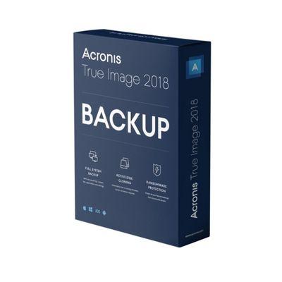 Acronis True Image 2018 1 licentie(s) Elektronische Software