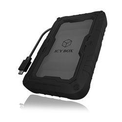 "ICY BOX IB-AC603P-C31 HDD-/SSD-behuizing 2.5"" Zwart"