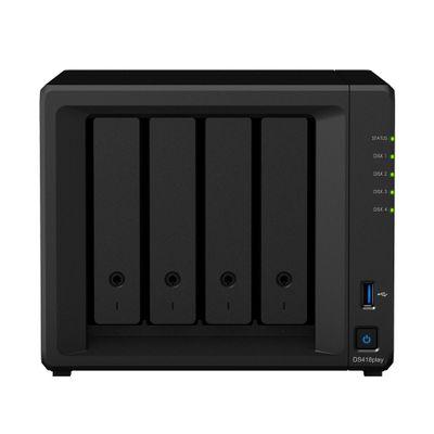 Synology DiskStation DS418play Ethernet LAN Desktop Zwart
