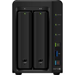 Synology DiskStation DS718+ NAS Desktop Ethernet LAN Zwart data-opslag-server