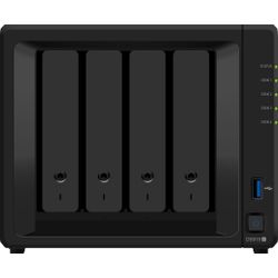 Synology DiskStation DS918+ NAS Desktop Ethernet LAN Zwart data-opslag-server