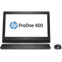 "HP ProOne 400 G3 3.4GHz i5-7500 20"" 1600 x 900Pixels Zwart"