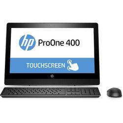 """HP ProOne 400 G3 3.4GHz i5-7500 20"""" 1600 x 900Pixels Touchscreen Zwart Alles-in-één-pc"""