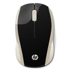 HP 200 (Silk Gold) RF Draadloos 1000DPI Ambidextrous Zwart