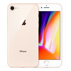 "Apple iPhone 8 11,9 cm (4.7"") 256 GB Single SIM 4G Goud"