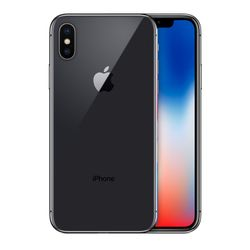Apple iPhone X Single SIM 4G 64GB Grijs
