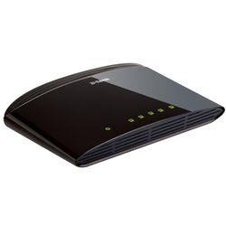 D-Link DES-1005D Unmanaged Fast Ethernet (10/100) Zwart