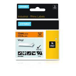 DYMO 18435 labelprinter-tape Zwart op oranje