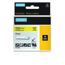 DYMO 18432 labelprinter-tape Zwart op geel