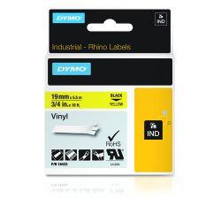 DYMO 18433 labelprinter-tape Zwart op geel