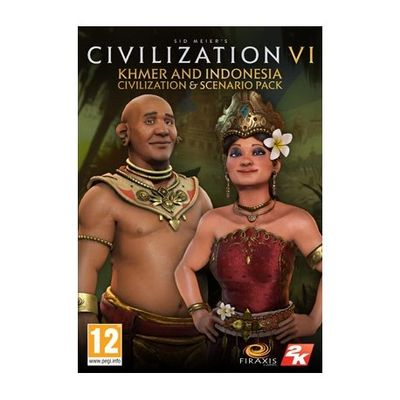 2K Sid Meier's Civilization VI Khmer and Indonesia