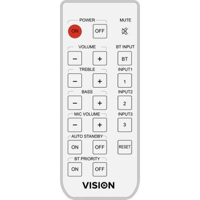 Vision AV-1800 RC afstandsbediening IR Draadloos