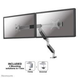 """Newstar NM-D750DXSILVER 27"""" Klem/doorvoer Zilver flat panel"""