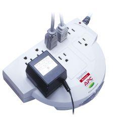 APC NET8 SurgeArrest Network, 480 J, 8 AC-uitgang(en), 120 V, 50/60 Hz, Beige, 70 dB