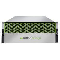 HPE Nimble Storage CS1000H disk array 0,96 TB Rack (4U) Zwart, Groen, Zilver